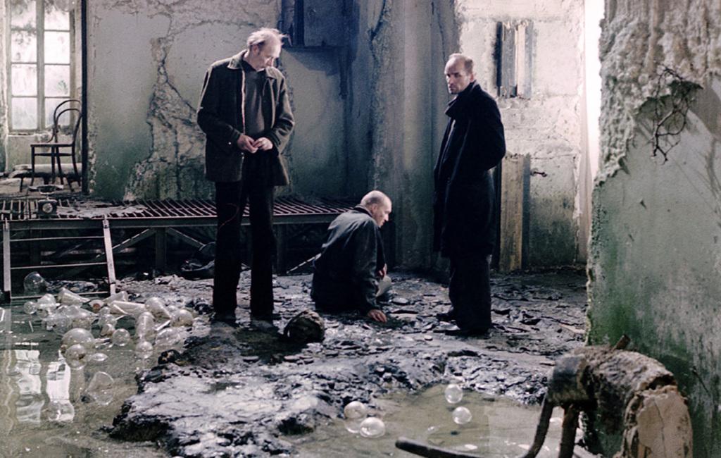 Stalker by Tarkovsky.