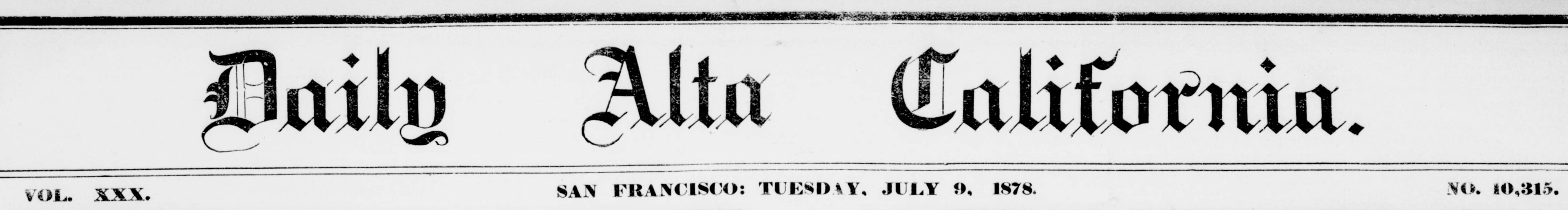 Daily alta California