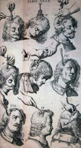 Scultetus_Set of trepanation instruments.