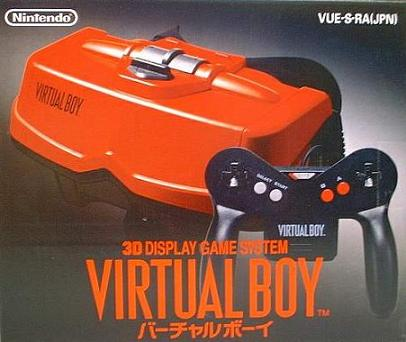 Virtual Boy VR Gaming System.
